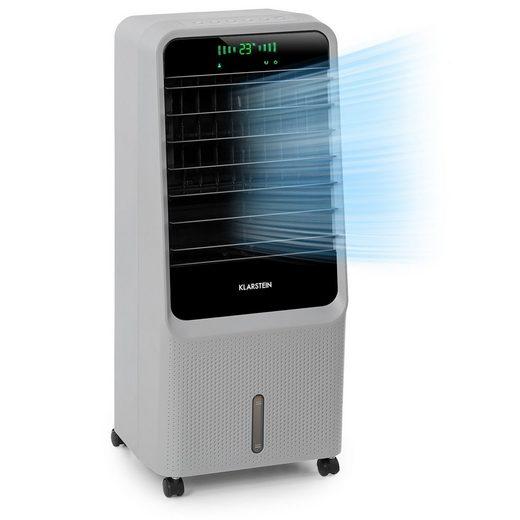 Klarstein Ventilatorkombigerät Townhouse 3-in-1 Luftkühler Ventilator Luftbefeuchter 396 m³/h 110 Watt 7 Liter 4 Geschwindigkeiten 4 Modi Fernbedienung mobil