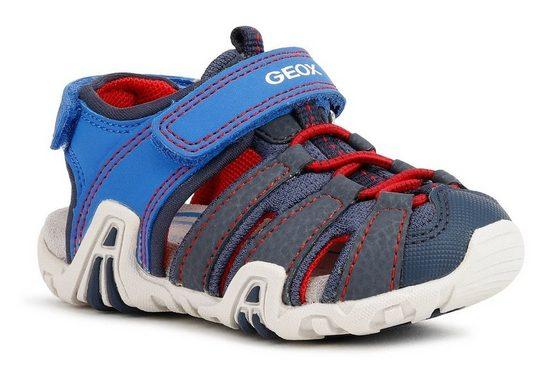 Geox Kids »Kraze A« Sandale mit zusätzlichen Klettverschlüssen