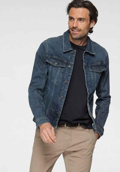 TOM TAILOR Jeansjacke mit Brusttaschen, sowie Eingrifftaschen auf der Frontseite