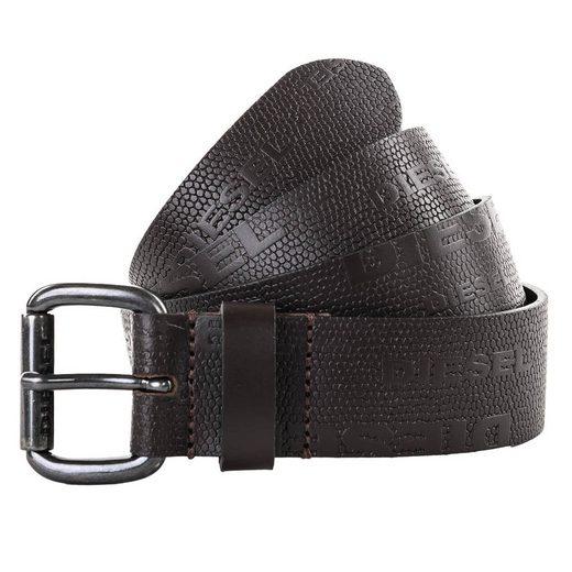 Diesel Ledergürtel »Herren Gürtel - Belts B-DIZZY, Echtleder,«