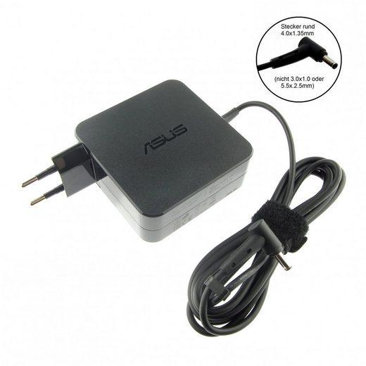 Asus »Original Netzteil für ASUS W15-065N1B, 19V, 3.42A, Stecker 4.0 x 1.35 mm rund, Stecker rund 4.0x1.35mm« Notebook-Netzteil