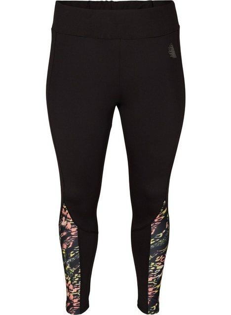Hosen - Active by ZIZZI Trainingstights Große Größen Damen Leggings mit 7 8 Länge ›  - Onlineshop OTTO