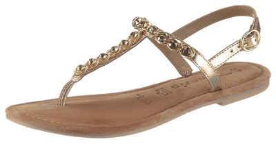 Tamaris »Milos« Sandale im trendigen Metallic Look