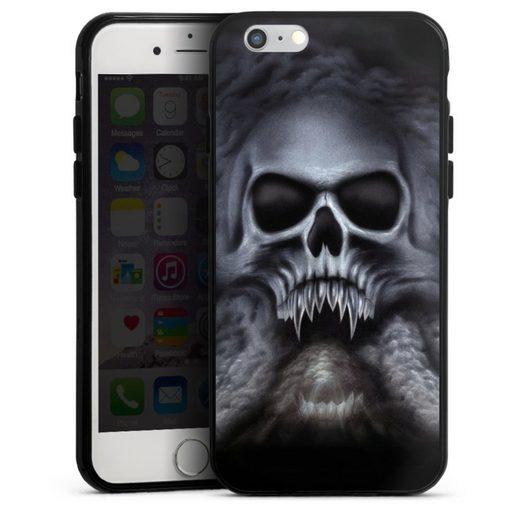 DeinDesign Handyhülle »Trinity« Apple iPhone 6, Hülle Totenkopf Schädel Halloween