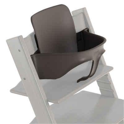Stokke Hochstuhlaufsatz »TRIPP TRAPP® Baby Set«, Zubehör für Babys ab 9 kg (ca. 6 Monate) – Farbe: Hazy Grey