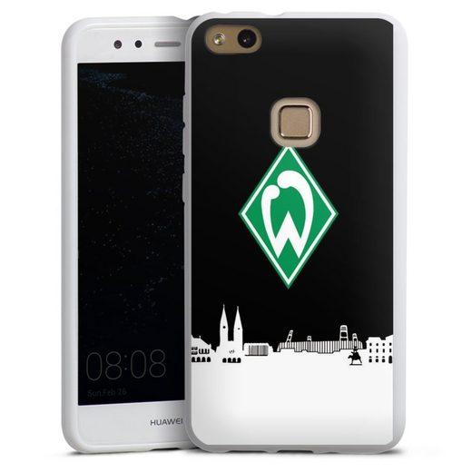 DeinDesign Handyhülle »WB Skyline« Huawei P10 lite, Hülle Offizielles Lizenzprodukt Skyline SV Werder Bremen