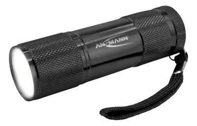 ANSMANN® Taschenlampe »Action COB LED Mini Taschenlampe für Handtasche Handschuhfach, Alu, IPX3«