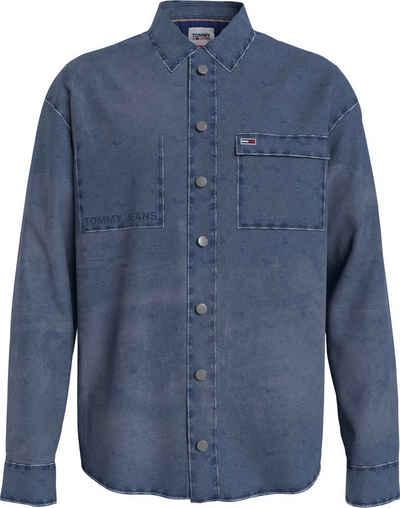 Tommy Jeans Jeanshemd »TJM STONE WASH DENIM OVERSHIRT«