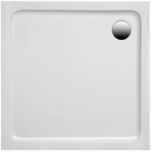 OTTOFOND Duschwanne »Set Quadratische Duschwanne«, quadratisch, Sanitäracryl, 1000x1000/30 mm