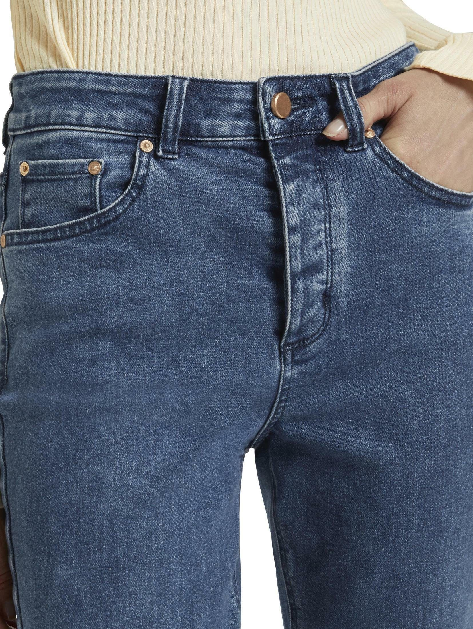 Tom Tailor Mine To Five Skinny-fit-jeans Emma Straight Jeans Mit Offenem Saum Online Kaufen