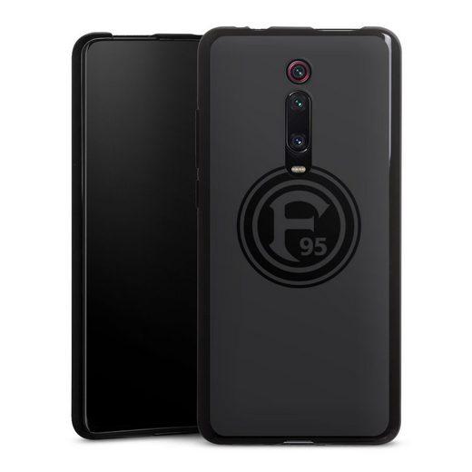 DeinDesign Handyhülle »Dunkel F95« Xiaomi Mi 9T Pro, Hülle F95 Logo Fortuna Düsseldorf