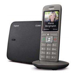 Gigaset »CL660« Schnurloses DECT-Telefon (Mobilteile: 1, Weckfunktion, Freisprechen)