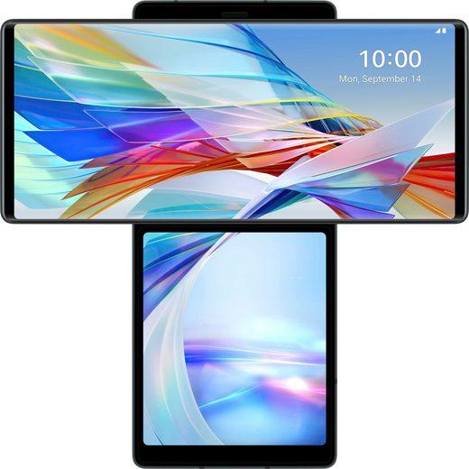 LG WING Smartphone (17,27 cm/6,8 Zoll, 128 GB Speicherplatz, 64 MP Kamera)