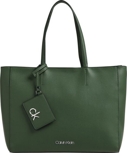 Calvin Klein Shopper »CK MUST SHOPPER MD«, mit goldfarbenen Details