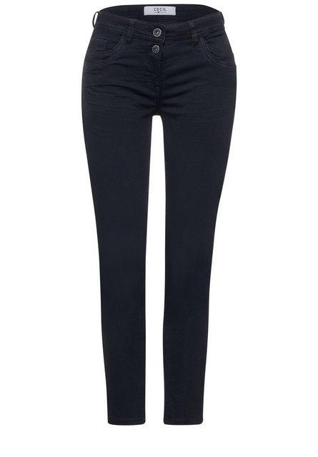 Hosen - Cecil 7 8 Jeans im Colour Style › blau  - Onlineshop OTTO