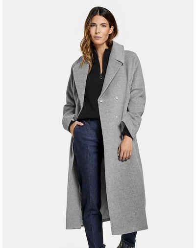 GERRY WEBER Langmantel »Mantel mit Wolle und Kaschmir«