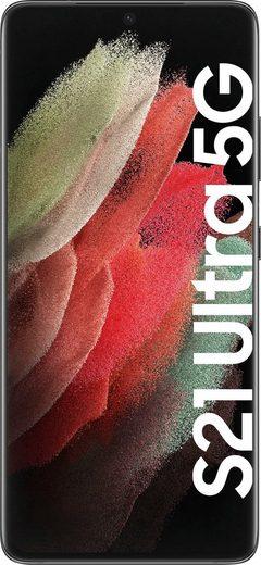 Samsung Galaxy S21 Ultra 5G Smartphone (17,3 cm/6,8 Zoll, 256 GB Speicherplatz, 108 MP Kamera, 3 Jahre Garantie)