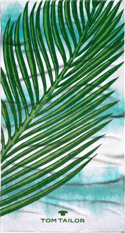 TOM TAILOR Strandtuch »Palma« (1-St), mit großem Palmenblatt