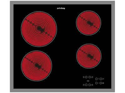 Privileg Elektro-Kochfeld, Timer für jede Kochzone mit Abschaltautomatik