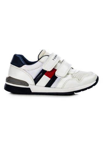 TOMMY HILFIGER Sneaker su doppeltem Klettverschluss