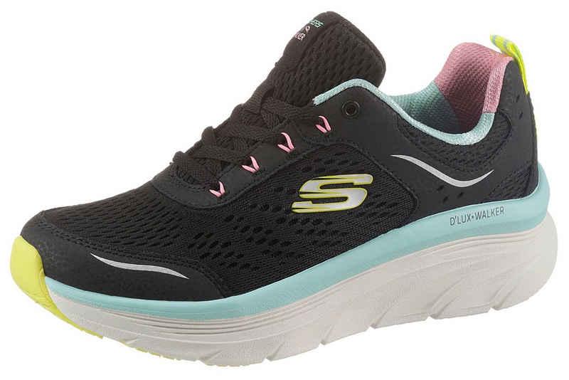 Skechers »D`LUX WALKER INFINITE MOTION« Keilsneaker mit RELAXED FIT Ausstattung
