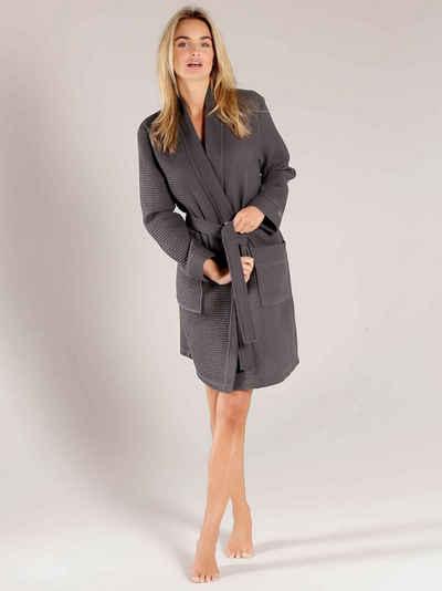 Damenbademantel »Kurz-Kimono Länge 100cm«, Taubert, Made in Europe