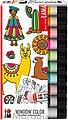 Fenstersticker »Window Color Set LAMA, 10 x 25 ml«, Marabu, Bild 1
