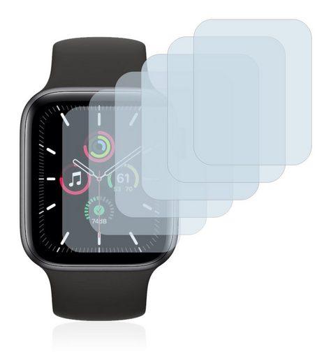 Savvies Schutzfolie »für Apple Watch SE (40 mm)«, (6 Stück), Folie Schutzfolie klar
