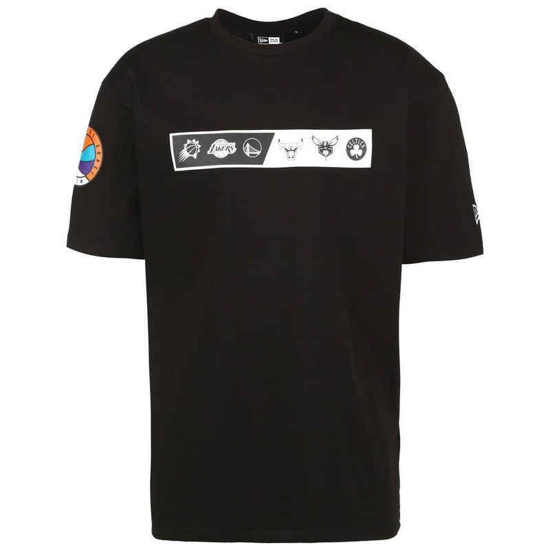 New Era Print-Shirt »Nba East/West Coast Oversized«