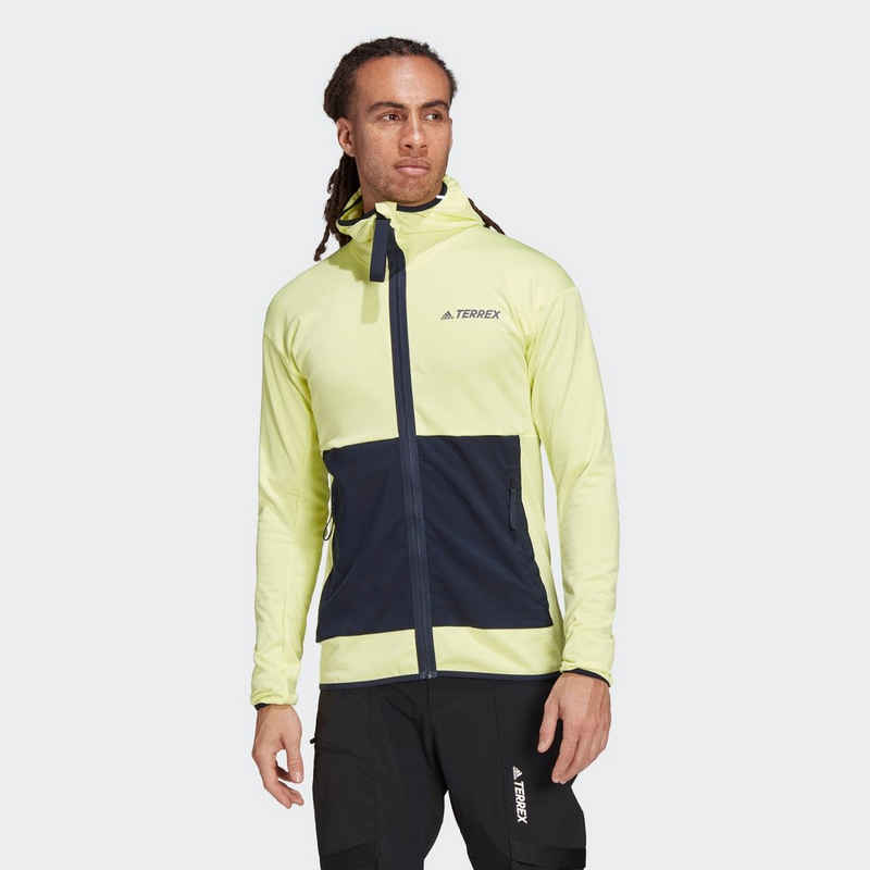 adidas TERREX Fleecejacke »TERREX Tech Lite Hooded Hiking Fleecejacke«