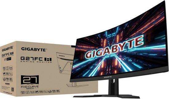 "Gigabyte G27FC A Gaming-Monitor (68,5 cm/27 "", 1920 x 1080 Pixel, Full HD, 1 ms Reaktionszeit, 165 Hz, VA LED)"