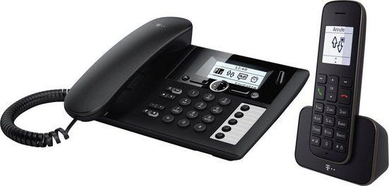 Telekom »Sinus PA 207 plus 1« Schnurloses DECT-Telefon (Mobilteile: 1)