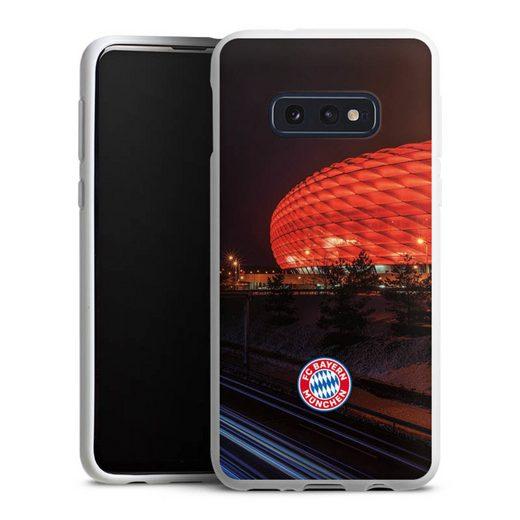 DeinDesign Handyhülle »Allianz Arena bei Nacht FCB« Samsung Galaxy S10e, Hülle FC Bayern München FCB Stadion