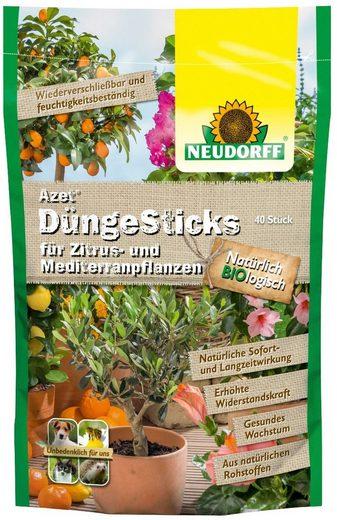 Neudorff Pflanzendünger »Azet Zitrus & Mediterran«, Düngerstäbchen, 40-St.