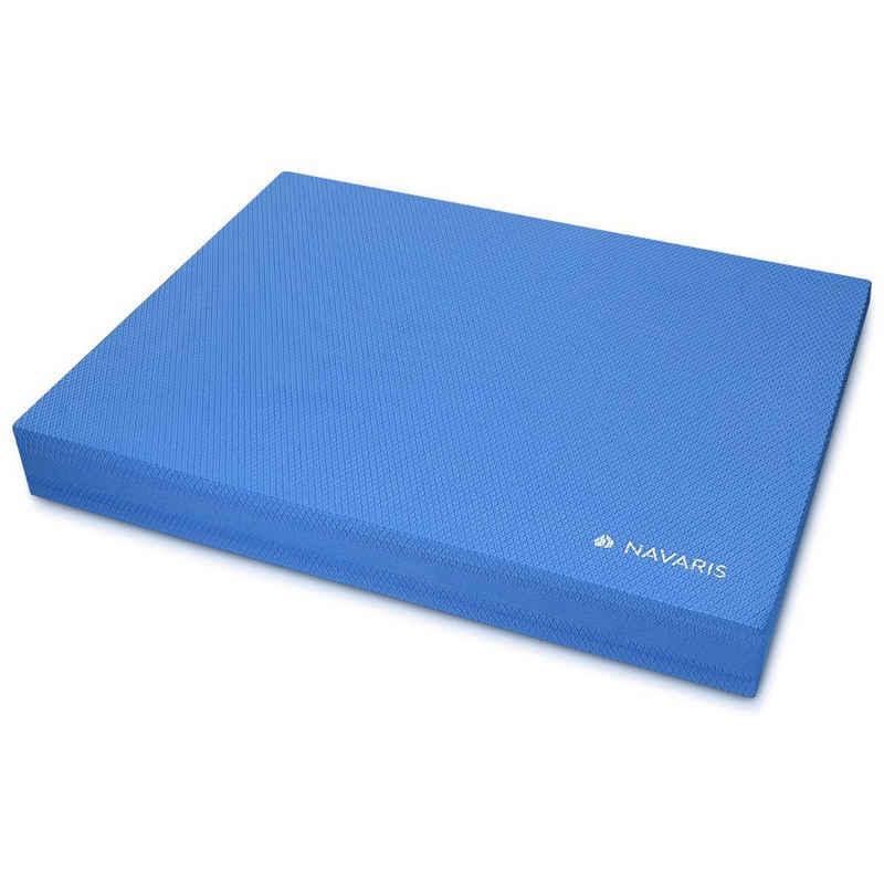Navaris Balance Pad, Balance Trainer Balancekissen - 50 x 39 x 6,5 cm TPE Schaumstoff Matte - für Physio Sport Gymnastik Yoga