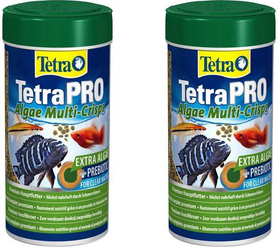Tetra Fischfutter »Pro Algae«, Flockenfutter 2x250 ml