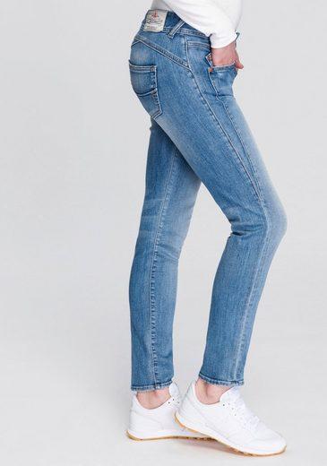 Herrlicher Slim-fit-Jeans »GILA SLIM ORGANIC« umweltfreundlich dank Kitotex Technology
