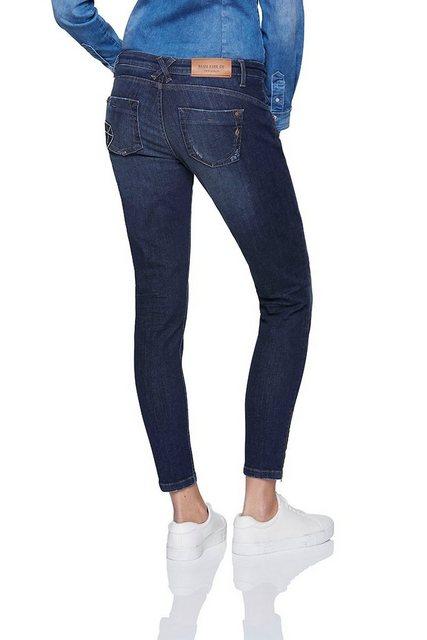 Hosen - BLUE FIRE Jeans im Skinny Fit Schnitt »Alicia« › blau  - Onlineshop OTTO