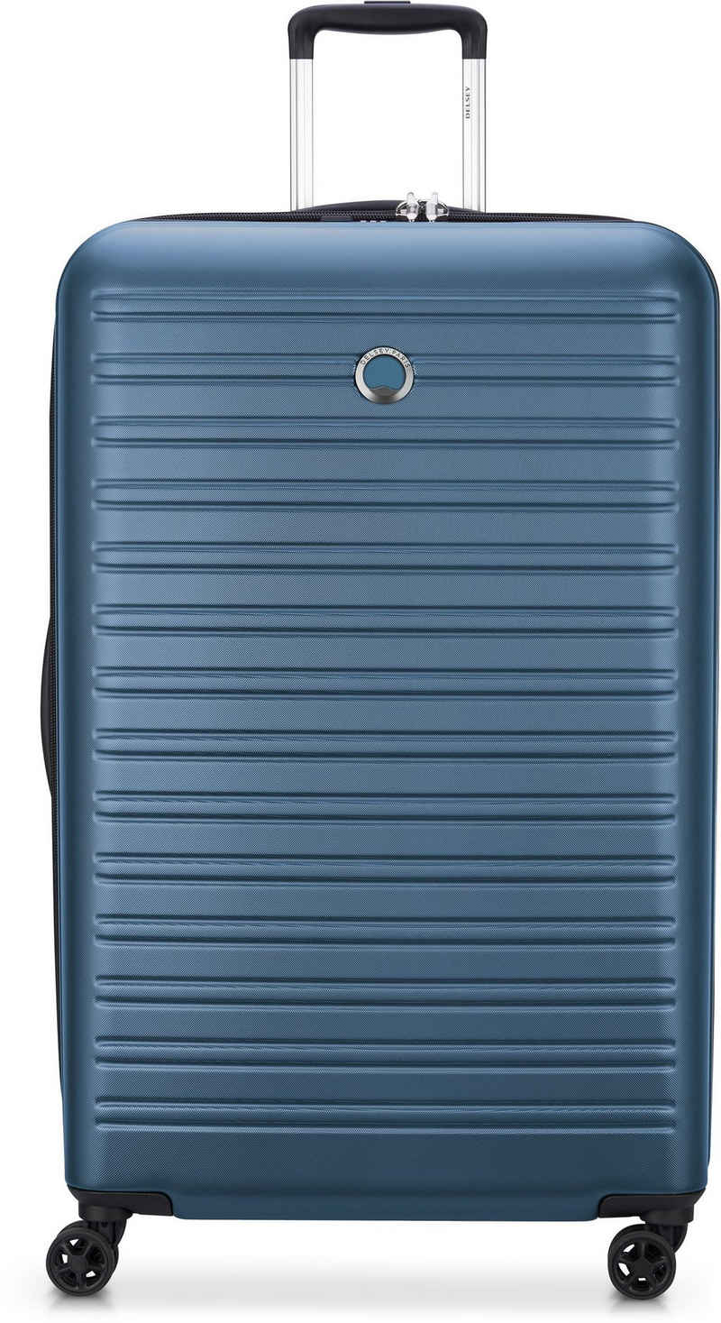 Delsey Hartschalen-Trolley »Segur, 70 cm, blue«, 4 Rollen