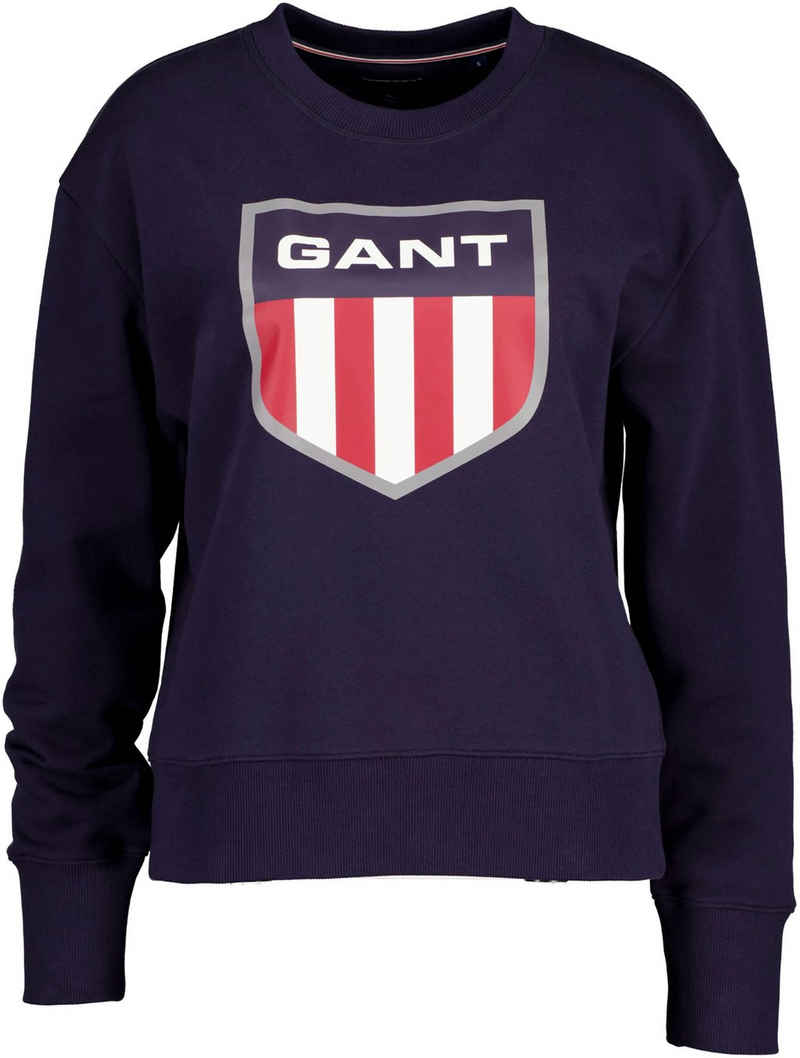 Gant Sweater mit großem Retro Shield Print