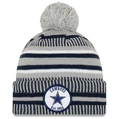 New Era Fleecemütze »Sideline Home Bommel Dallas Cowboys«