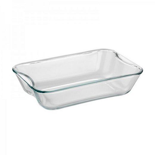SIMAX Auflaufform »Glas Auflaufform Brat- und Backschale 27 x 18 cm«, Glas, (1-St)
