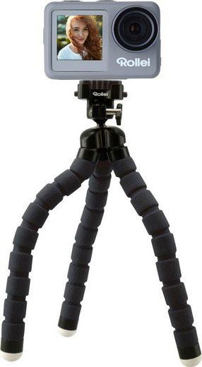 Rollei »9s Plus« Action Cam (4K Ultra HD, WLAN (Wi-Fi), Rollei Monkey Pod-Set)