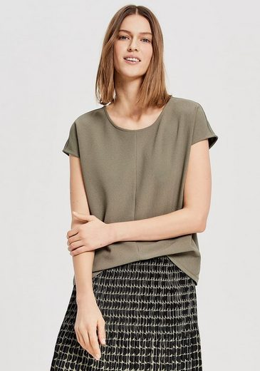 OPUS T-Shirt »Sudo« mit eleganter Mittelnaht