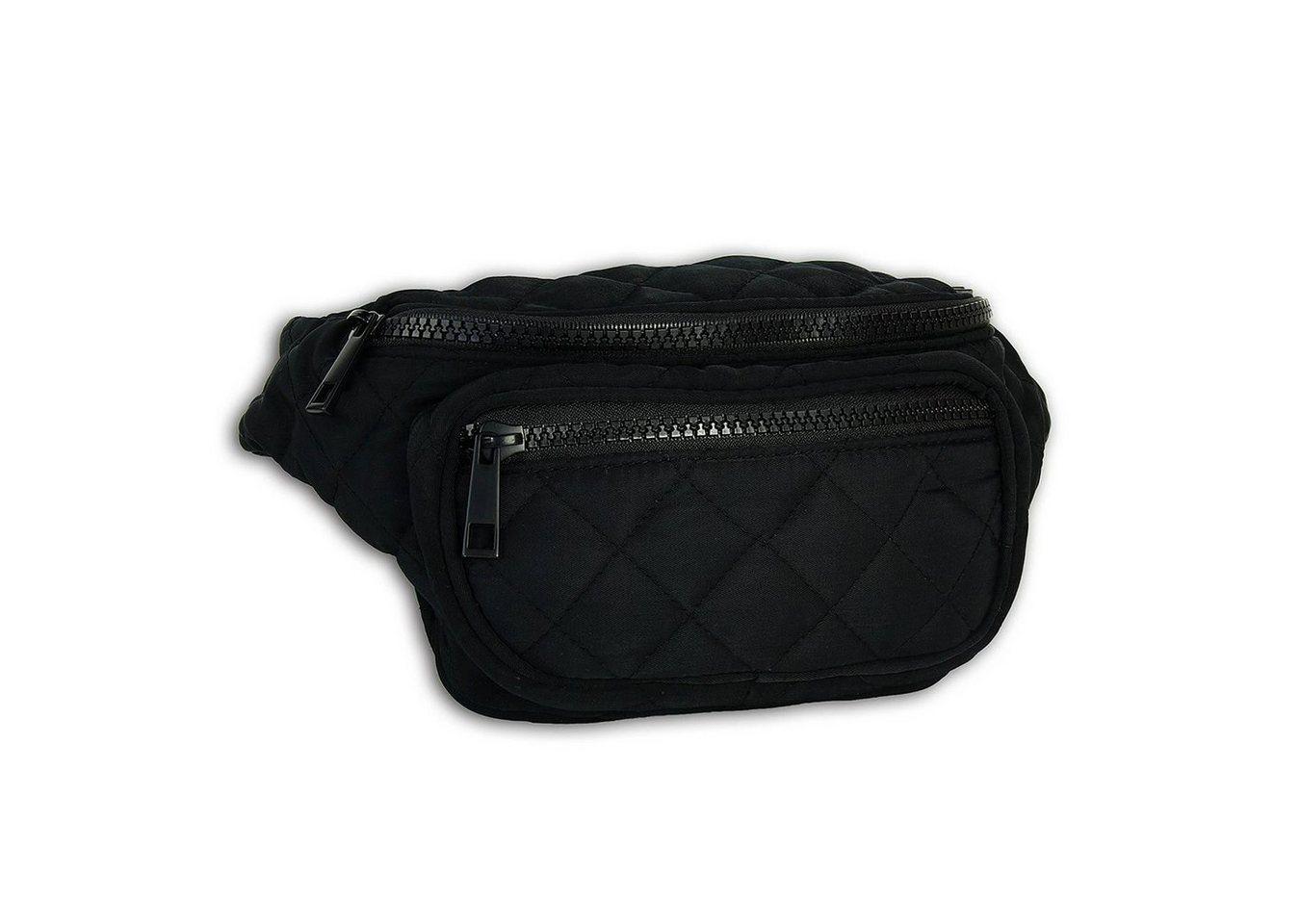 new bags -  Gürteltasche »OTD5026X  Damen Hüfttasche Gürteltasche« (Gürteltasche), Damen, Jugend Tasche schwarz, ca. 24cm x ca. 10cm