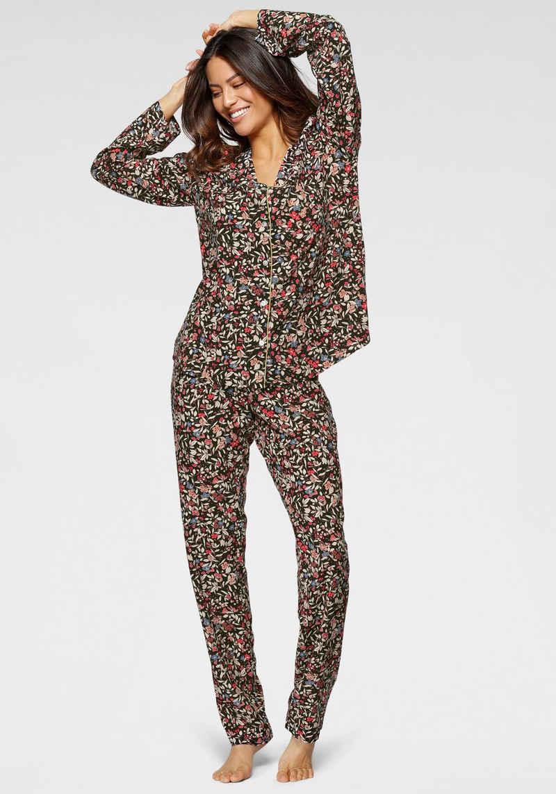 Triumph Pyjama bunt geblümt