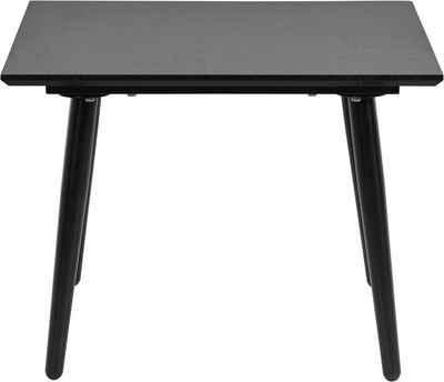 Leonique Beistelltisch »Eadwine«, Tischplatte aus pflegeleitem MDF mit Folie, Gestell aus Metall, in verschiedenen Farbvarianten erhältlich, Höhe 45 cm