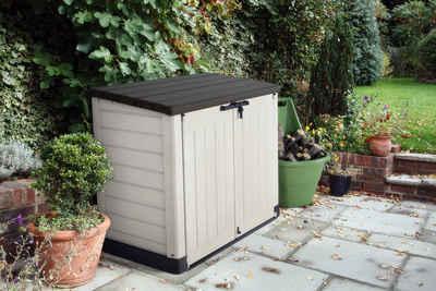 Keter Mülltonnenbox »Store It Out MAX«, BxTxH: 145x125x82 cm