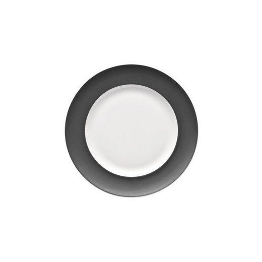 Thomas Porzellan Brotteller »Sunny Day Grey Brotteller 18 cm«, (1 Stück)