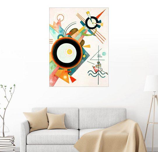Posterlounge Wandbild, Bild mit Pfeilform